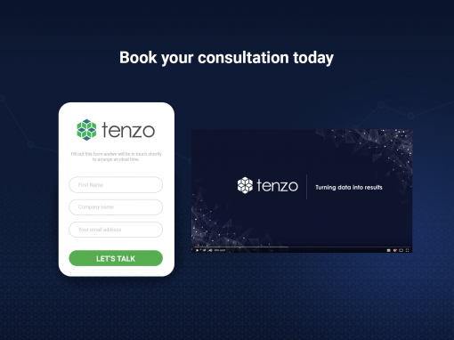Tenzo – Demo page redesign